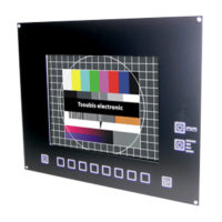 LCD12-0076 utbytes monitor för Heidenhain TNC 406 / TNC 407 – BC 110B med softkeys